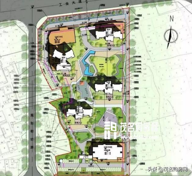 雅居乐地产定位茂名开发区,未来发展潜力十分优厚